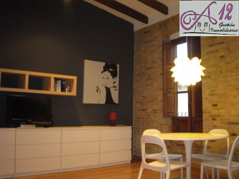 Alquiler piso de diseño junto al Mercado Central Valencia