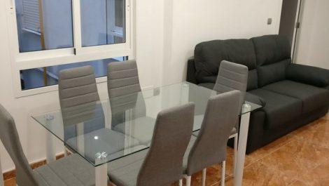 Alquiler piso amueblado Nou Moles Valencia