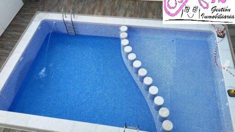 Alquiler atico con piscina y parking en Puzol Valencia
