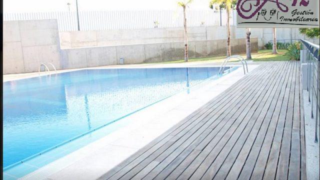 Alquiler piso con piscina en Patraix Valencia